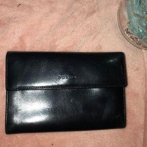 Black Prada wallet